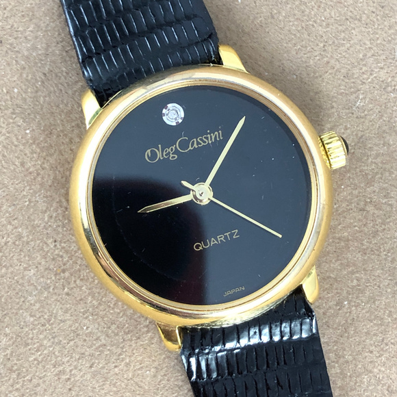 Oleg Cassini Accessories - Vintage Lady's Oleg Cassini Retro Quartz Watch